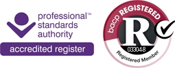 BACP Professional Standards Accredited Logo